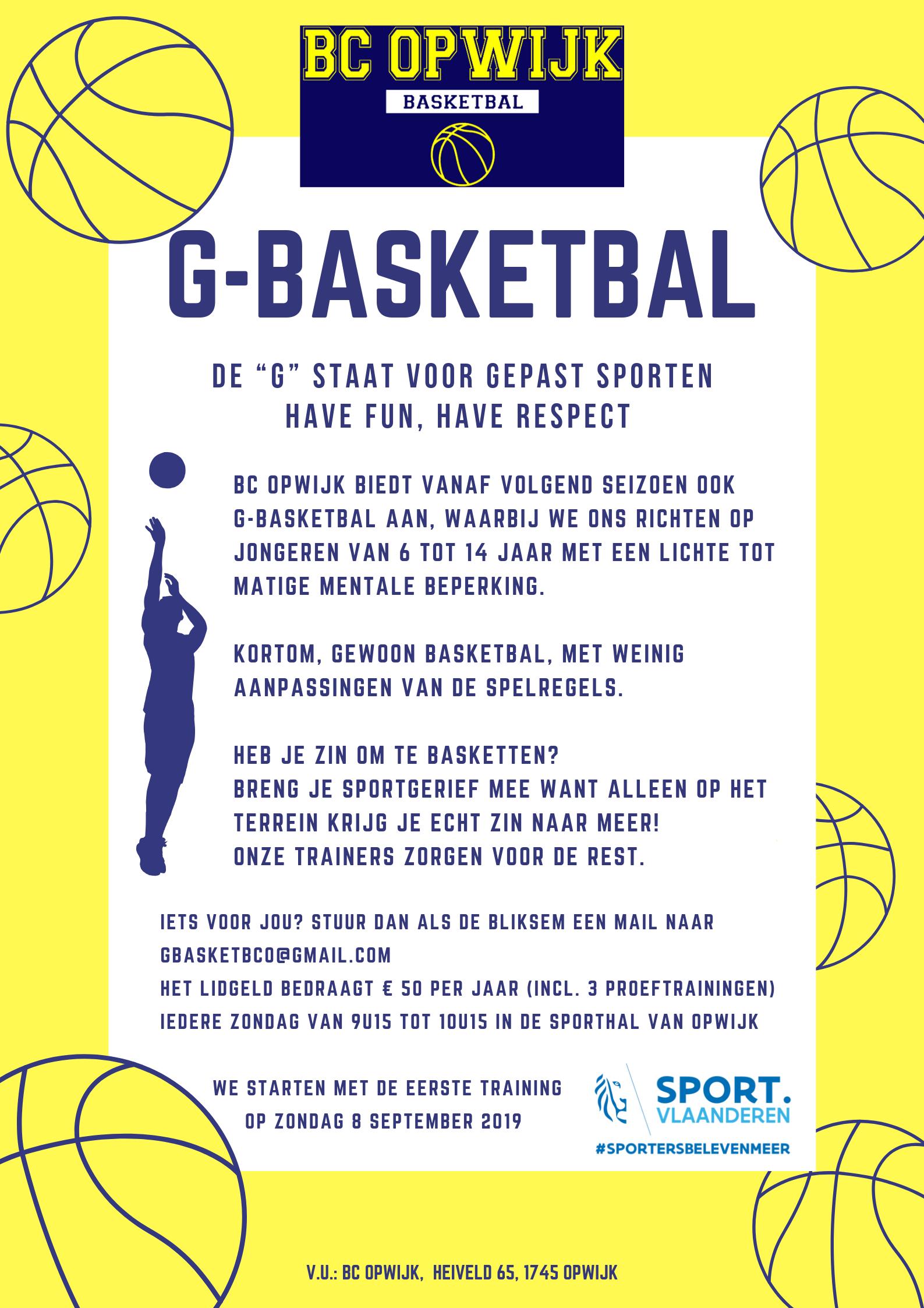 G-Basketbal